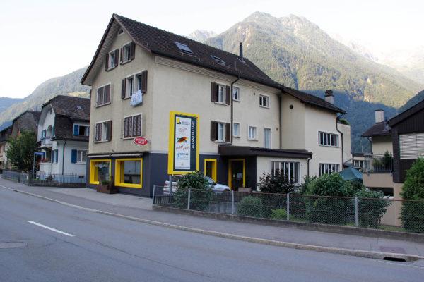 Gewerbeaussstellung an der Gotthardstrasse 137 in Erstfeld