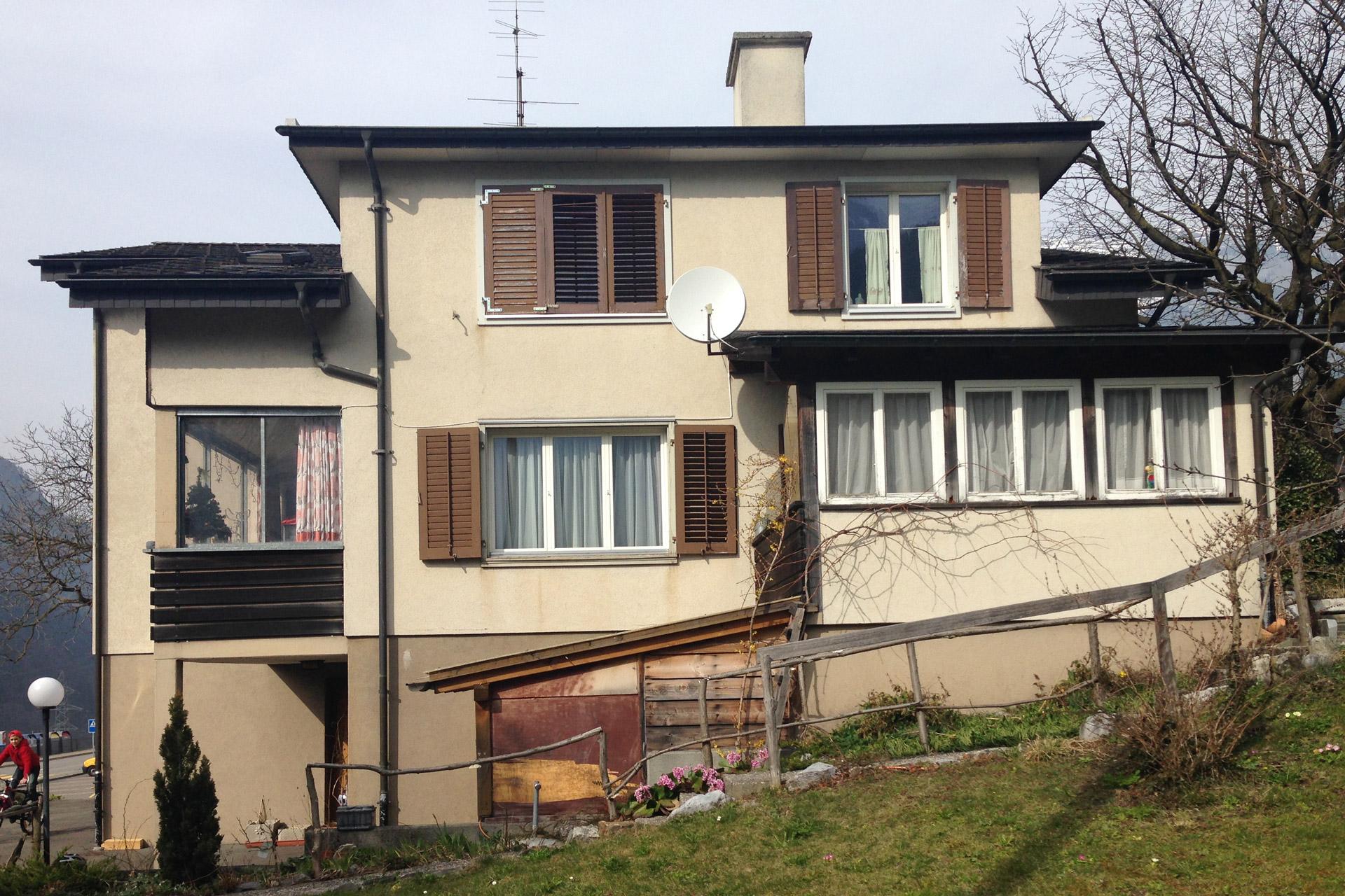 Wohnhaus Silenen vor Renovation