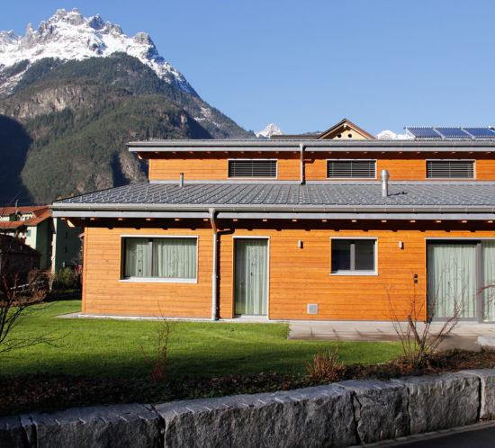 Estermann (7): Prefa Dach Einfamilienhaus in Erstfeld